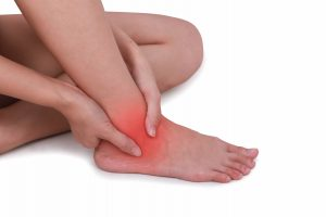 Osteopath in Kettering, Northamptonshire. Foot and ankle pain